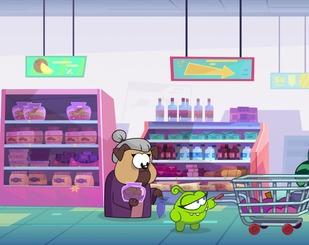Пригоди Ам Няма: Бійка в магазині