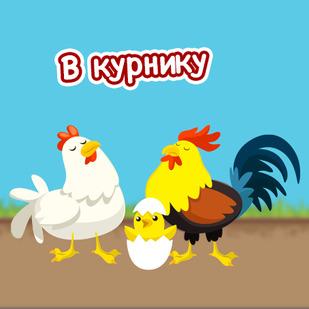 В курнику