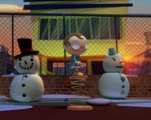 Ангус і сніговик